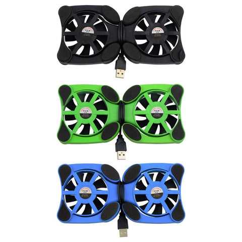 1 stks Usb-poort Mini Octopus Notebook Cooler Cooling Pad Voor 7