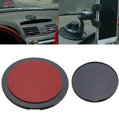 Universele Auto Mount Houder GPS Adhesive Sticky Dashboard Zuignap Disc Schijf Sticky Pad