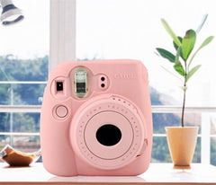 2017Fuji Fujifilm Instax Mini 8 Mini8s Camera Case Classic Noctilucent Camera Case Skin Cover Camera Tas
