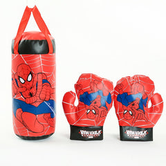 2018 Disney Marvel Spiderman Speelgoed Handschoenen Zandzak Set Kids Sport Boksen Speelgoed Voor Chidren Jongens Beginner In Outdoor Verjaardagscadeautjes