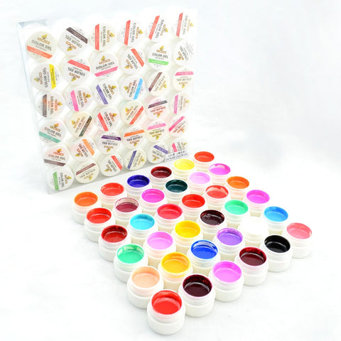 #20204 CANNI Output Nail Art Gel Verf Kleur 36 gdcoco UV Gel Nagels Kit   GDCOCO
