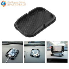 2 stksuniversele Auto Anti Slip Pad Rubber Mobile Sticky Stok Dashboard Telefoon Mount Houder Antislip Mat Voor GPS MP3 Stand