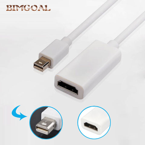 3 in 1 mini dp displayport-naar hdmi/dvi/vga display port kabel adapter voor apple macbook pro   BIMGOAL