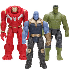 30 cm De Avengers 3 INFINITY WAR Thanos Hulk Buster PVC Actiefiguren TITAN HERO SERIE Figuur Collectible Model Marvel speelgoed