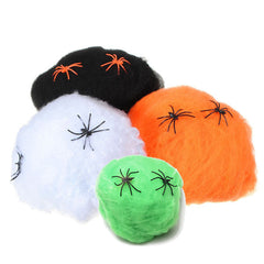 Halloween Spinnenweb Decoratie