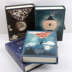 """Like a Dream"" Journal Dagboek Notebook Met Lock Box Functioneel Planner Lock Notebook Geschenkpakket"