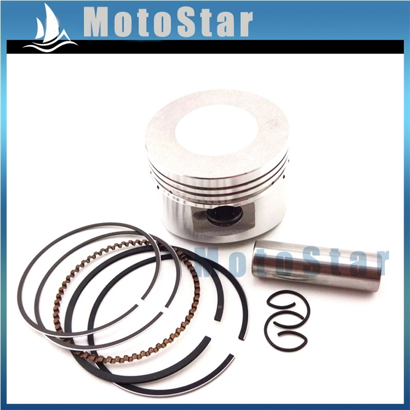 52mm 13mm Zuigerpen Ring Kit Voor Chinese Lifan 110cc Motor Motorfiets Pit  Dirt Trail Motor Bike ATV quad