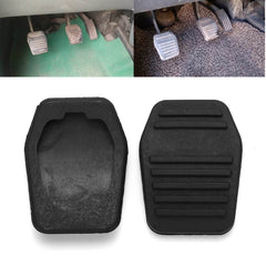 2 Stks Rubber antislip Auto Pedaal Pad Rem & Koppeling Protector Cover voor Ford Transit MK6 MK7