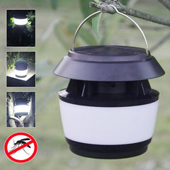 Solar Power Sonic Wave Anti-mug LED Light Garden RVS waterdichte lamp