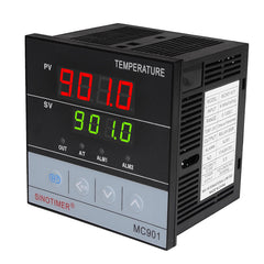 MC901 96x96mm Universele Ingang Digitale PID Temperatuurregelaar Regulator SSR Relaisuitgang voor Verwarming of Koeling met Alarm Fahrenheit