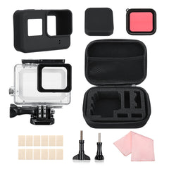Waterdichte behuizing Case opbergtas Filter Set voor GoPro Hero 7 6 5 Black Sport Camera