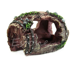 Aquarium Aquarium Kunstmatige Vat Hars Ornament Cave Landscaping Decoratie Aquarium Aquarium Decor accessoires Acuarios