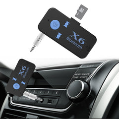 Auto USB Bluetooth Audio Receiver Adapter 3.5mm Jack Aux Bluetooth 4.1 Handsfree Carkit Mp3 Muziek Ontvanger