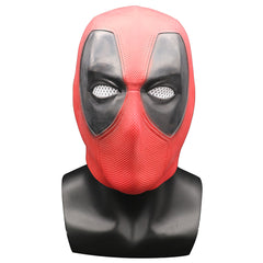 Deadpool 2 Marvel Deadpool Masker Halloween Cosplay Kostuum Helm Props Superhero Movie Latex Masker Overhead Party Masker