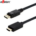 Effelon 1.8 M 6ft display port Displayport DP naar HDMI Male Kabel Adapter Converter voor PC Laptop HD   effelon