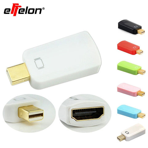 EffelonMini displayport-naar hdmi Mini Display Port Converter Adapter Computer Connector Extender   MyXL