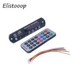 Elistooop Bluetooth Draadloze Bluetooth MP3 WMA Decoder Board 12 V Audio Module USB TF Radio Module Muziek Voor Auto