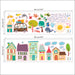 % Dieren Huis Decoratieve Muurstickers Kwekerij Kinderkamer Cartoon Decoratie PVC Mural DIY Art Decals Stickers Op De Kast