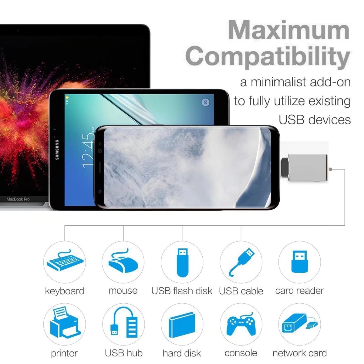 Mobile Phone Accessories Reliable Usb Type C To Micro Usb Adapter Charger For Sony Xperia 1 Xz3 L1 L2 L3 Xz Xz1 Xz2 Premium X Compact Xa1 10 Plus Xa2 Ultra Xa3 Mobile Phone Adapters