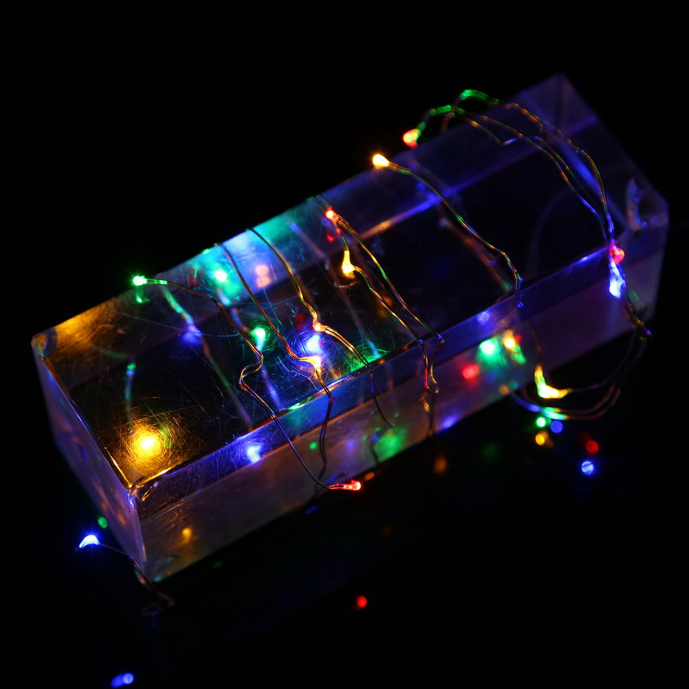 Outdoor Festival Party Decoratie LED String Batterij Operated PVC ...