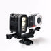 Gopro 30 M Waterdichte Duiksport LED Video Licht voor Gopro Hero 1 2 3 3 + 4 5 6 SJCAM SJ4000 SJ6000 Xiao Yi Sport Camera