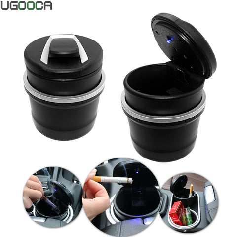 Led-verlichting Auotomobile Air Vent Mount Auto Asbak cup Sigaret ...