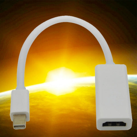 mini displayport displayport dp naar hdmi adapter kabel 1080 p hd voor apple mac voor macbook pro air