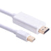 Hoge snelheidThunderbolt Mini Displayport Displayport dp-naar HDMI Adapter Kabel Voor Apple Mac Macbook Pro Air 1.8 3 m