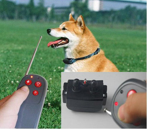 koop bark geen barking remote elektrische shock vibration remote pet dog training kraag