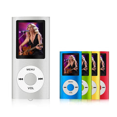 MP3/MP4 Speler ondersteunt 64 GB Micro Sd-kaart met Foto-viewer, book Reader en Voice Recorder en FM Radio Video