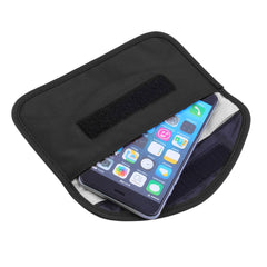 Mobiele Telefoon RF Signaal Blocker/Stoorzender Anti-Straling Shield Case Bag Pouches Black