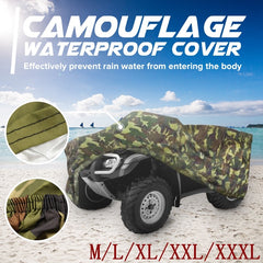 Mofaner Universele 190 t Camouflage Waterdicht Motorhoes Quad ATV Voertuig Scooter Motor Covers M L XL XXL XXXL