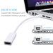 Mini DisplayPort To HDMI Adapter Cable Mini Display Port DP Converter ThunderboltFor Apple Macbook Pro Air   EASYIDEA