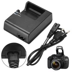 Collectie 1 st LC-E10C Camera Acculader + EU Plug Power Cord Voor Canon LP-E10 EOS 1100D 1200D Kiss X50 Rebel T3