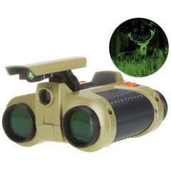 Collectie 4x30mm Nachtzicht Viewer Surveillance Spy Scope Verrekijker Pop-up Light Tool