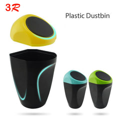 Originele 3R Auto-accessoires Deur Trash Mini Draagbare Auto Vuilnisbak Auto Trash Vuilnis Kan Bin Dust Box Holder