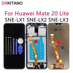 Originele LCD Huawei Mate 20 Lite Display Touch Screen Digitizer voor Huawei Mate 20 Lite LCD SNE LX1 LX2 LX3 screen Vervanging