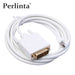 Perlinta MINI DP NAAR DVI Kabel, 1.8 M Thunderbolt/Mini DisplayPort Dvi-adapter Kabel voor Apple Mac/PC