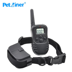 Petrainer 998D-1 Elektronische Halsband Afstandsbediening Geen Schok Pet Training Collar Met LCD Display met LCD Display