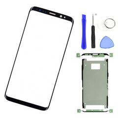 Vervanging Outer Glas Lens Voor samsung S8 G950/S8 Plus G955 LCD Touch Screen Voor Glas Outer Panel + lijm gereedschap