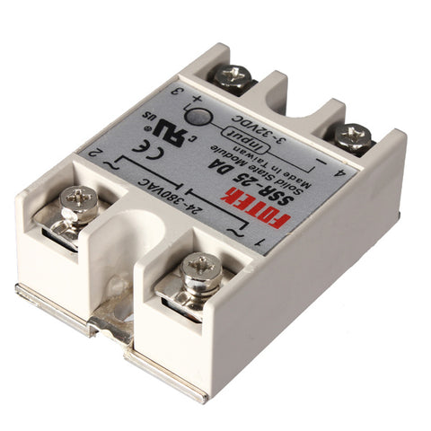25A 250V Solid State Relais SSR