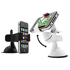 360 hoek roterende auto Sucker Bracket Holder voor iPhone Smartphone