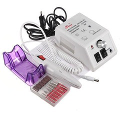 220 V Pro Elektrische Boor Nail Art Machine Manicure Pedicure Kit Set