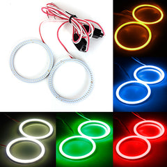 Auto COB Lamp 12 V-24 V 60 MM 66 LED Angel Eyes Halo Ring Lamp Licht