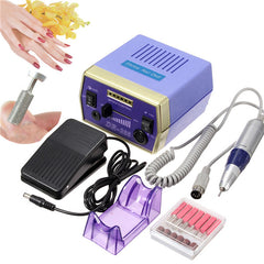 220-240 V Professionele Manicure Pedicure Elektrische Boor Nail Art Set Kit