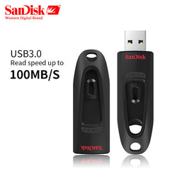 SanDisk USB 3.0 Flash Drive 256 GB Pen Drive 128 GB USB3.0 Geheugen stok 64 GB Pendrive 32 GB 16 GB USB Key Leessnelheid tot 100 M/s