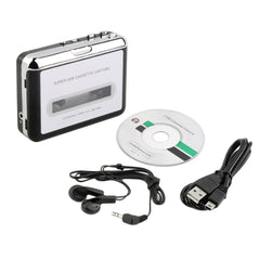 Tape naar PC Super USB Cassette-to-MP3 Converter Capture Audio Muziekspeler