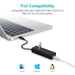 USB Gigabit Ethernet Adapter 3 Poorten USB 3.0 HUB USB naar Rj45 Lan Netwerkkaart voor Macbook Mac Desktop + micro USB Charger Cable
