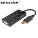 Voxlink1080p display port dp naar vga/aduio/hdmi/dvi converter kabel adapter 4 in 1 display port connector   VOXLINK