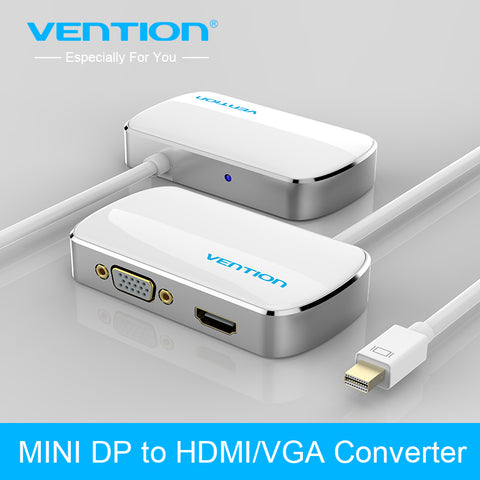 Adapter Mini DisplayPort naar HDMI & VGA
